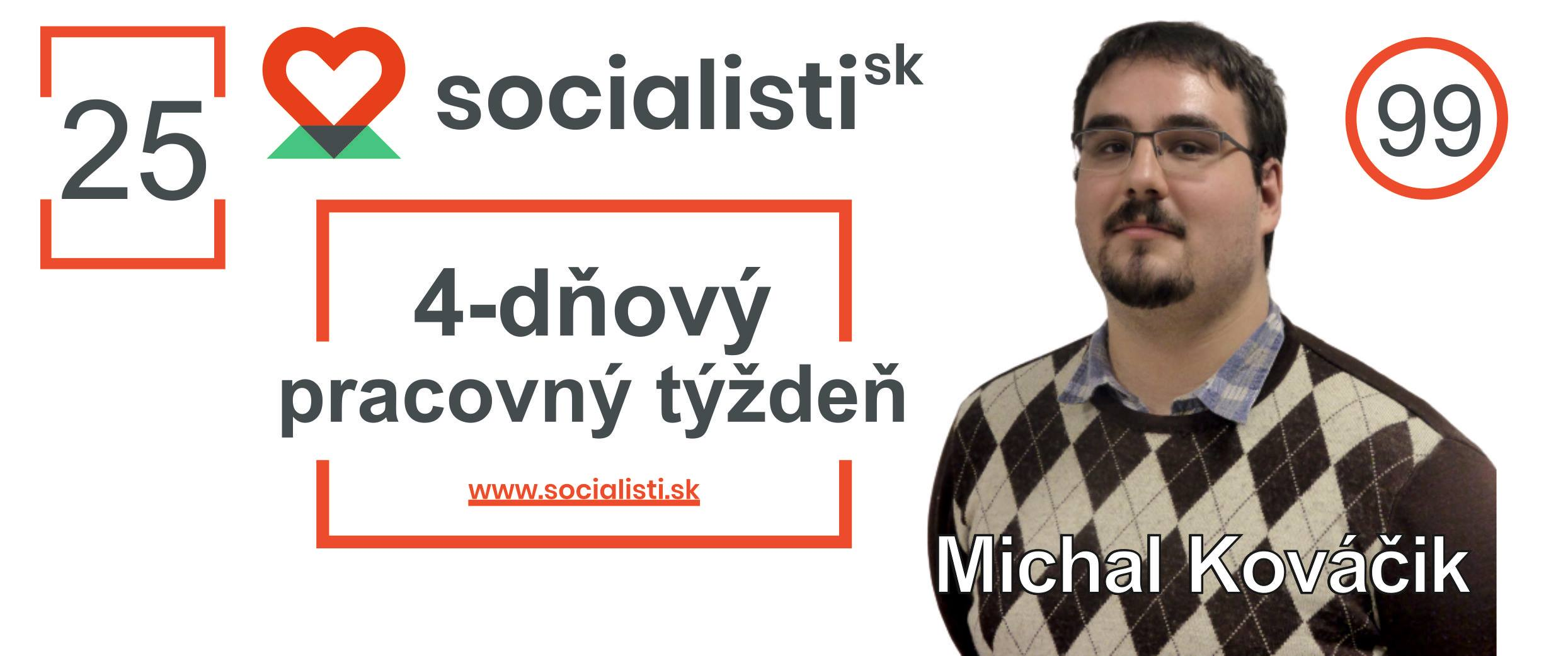banner kovacik socialisti